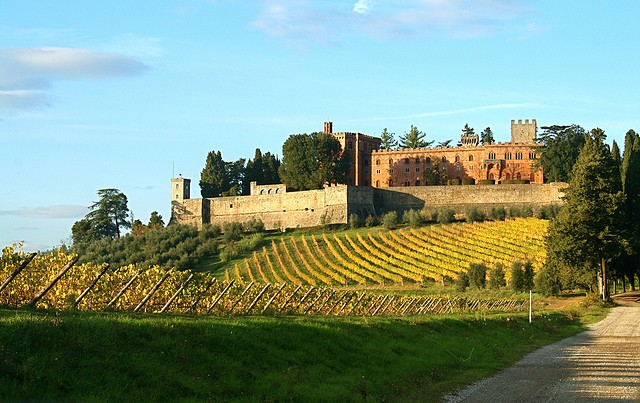 The Castle of Brolio and Winery in Chianti