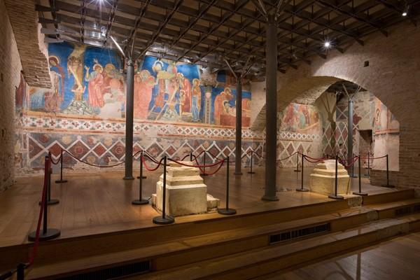 The Crypt within Siena's Duomo
