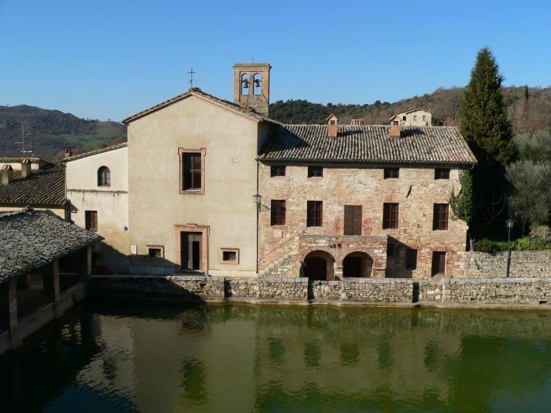 Bagno Vignoni Thermal Baths,Tuscany,Siena