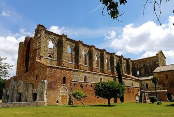 San Galgano Abbey and the Sword in the stone