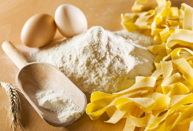 homemade pasta from tuscany