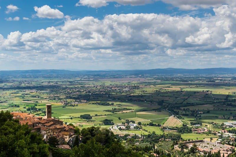 Cortona as a base to explore Tuscany and Umbria