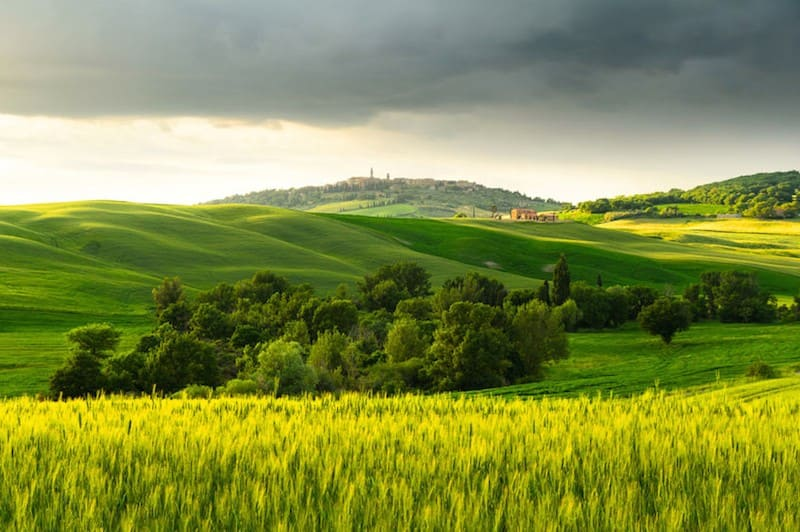 Chic Accommodations in Pienza